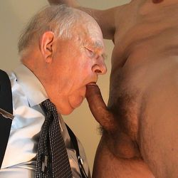 old nick suck cock