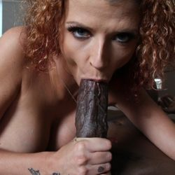 curly ann blowjob