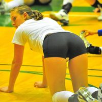 sexy volley girl