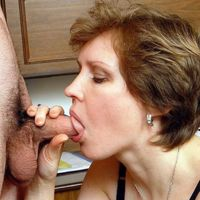 real mom blowjob