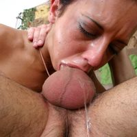 blowjob gagging