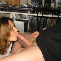 wife caught giving blowjob