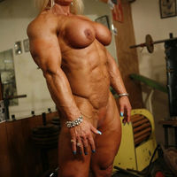sexy muscle girl porn