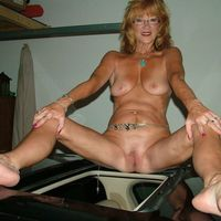 older nude wife