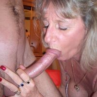 mature women blowjob