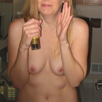 wife caught naked