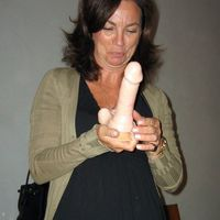 cock and dildo in pussy