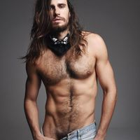 male pornstars with long hair