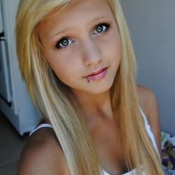 blonde teen pov