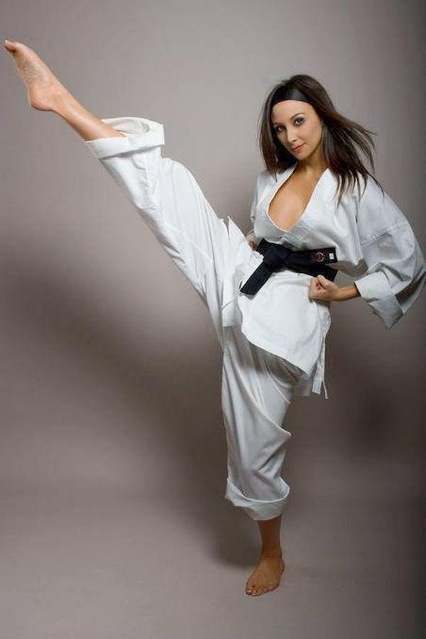 Sexiest lingerie fighting women