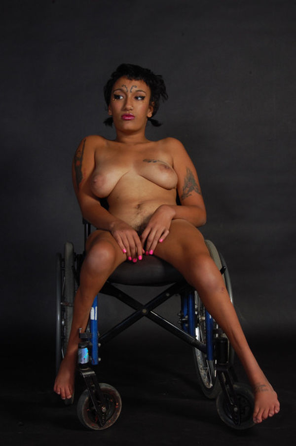 Handicapped Naked Teen