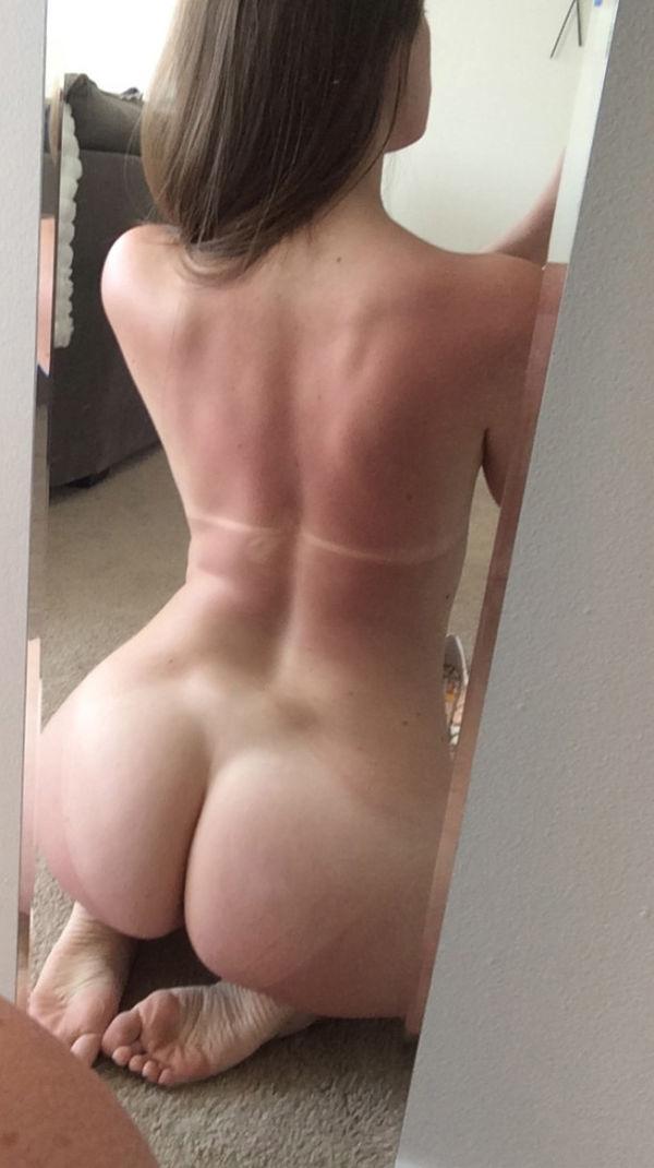 Perfect ass mirror shot (xpost /r/realsexyselfies) - BabeFil