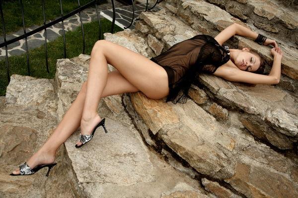 Фотографии Eufrat Сексуальное белье Девушки Туфли