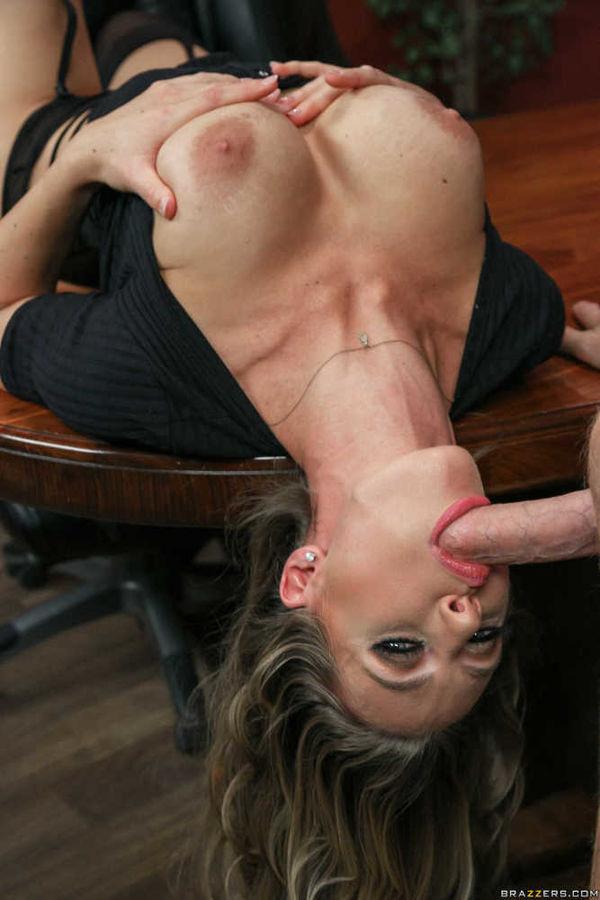 Long upside down blowjobs