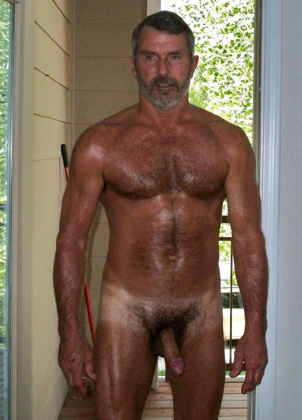 Nude hairy uncle 2