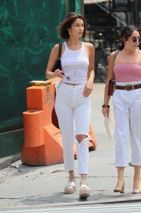 Bella Hadid Braless - The Fappening Leaked Photos 2015-2019