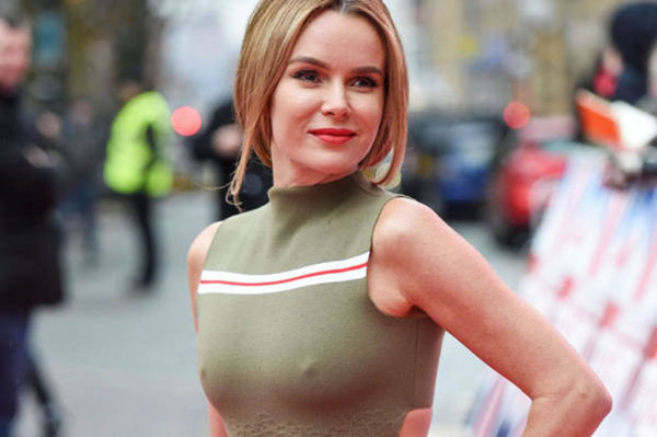 Amanda Holden revealed that she has been forced to cover her