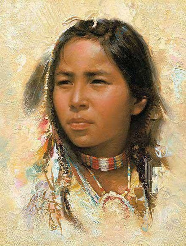 Golden Feather Native American Indians