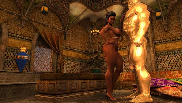 Zz2tommy - Lucille - Arabian Night  - Free Porn Comic