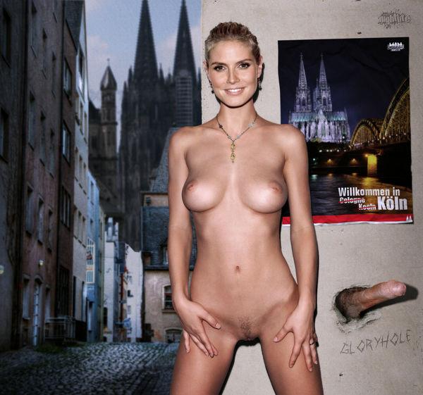Pornos heidi klum Kostenlose Heidi