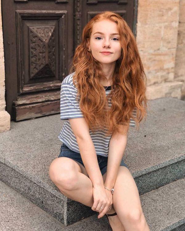 Julia Adamenko (90) Beautiful Reds Рыжий цвет волос, Красивы