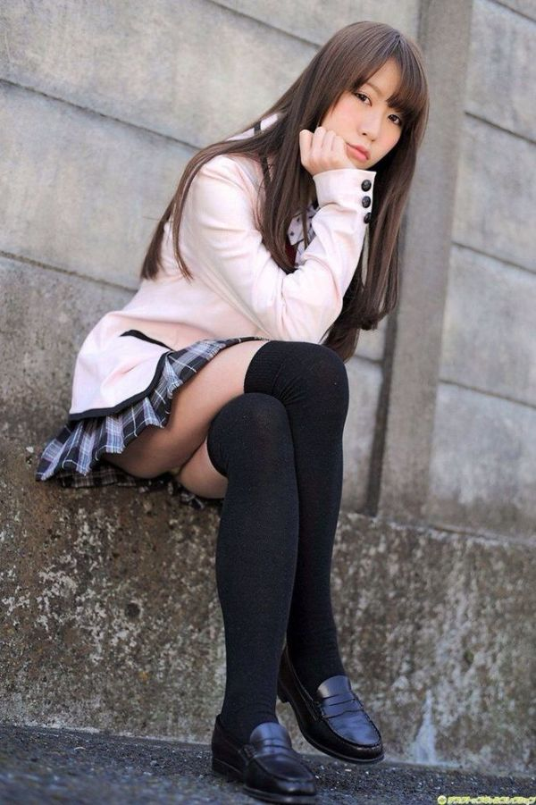 Beauty leg collection Ejaculatory Schoolgirl Outfits