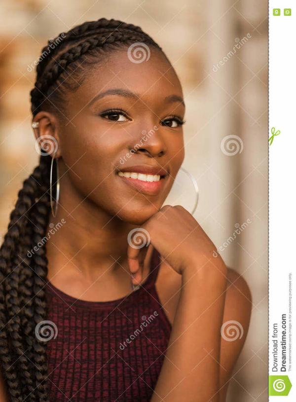 High School Senior Girl stock photo. Image of woman, skinny