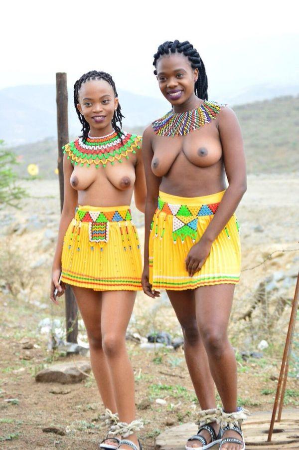 African zulu women nude