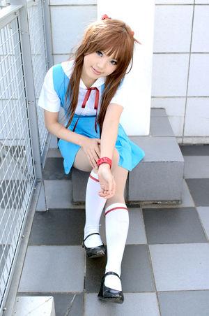 Safebooru - cosplay kipi-san kneehighs..