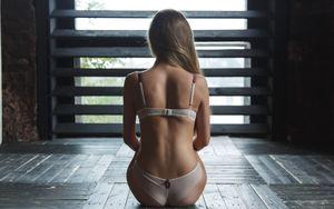 Картинка women, brunette, ass,..
