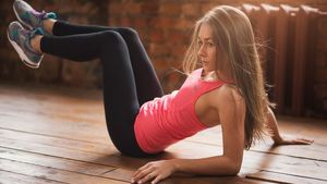 Teen girl stretching pictures free..