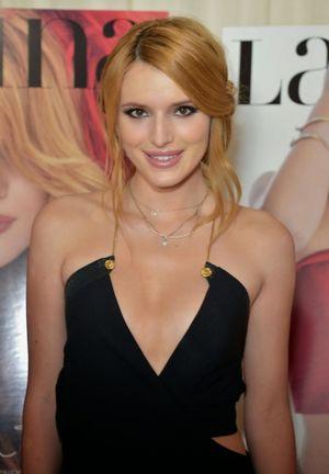 Bella Thorne in Mini Dress at the..