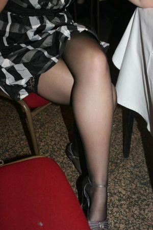 Mature Sex Mature Crossed Legs..