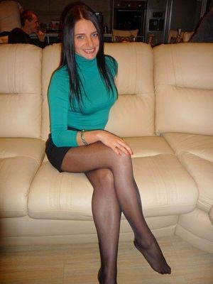Legs, feet and pantyhose - beautiful..