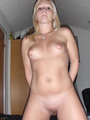 Danish Amateur Blonde Homemade Pics..