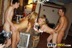 Crazy college sex at the hot costumed..