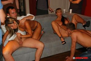 Hardcore Partying - Crazy Sex Orgy At..