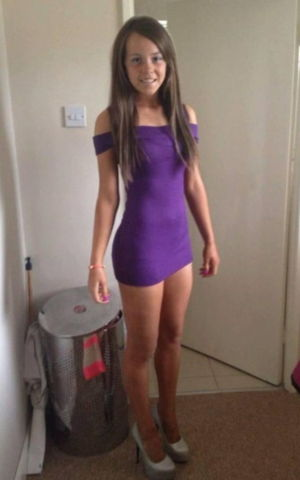 Teen tight micro dress tribute - 9..