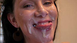 Cum Splattered Faces #22 - PornHugo