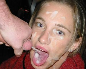 Final, sorry, amateur cum facial..