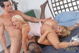 Nikita Von James and Ava Devine Busty..