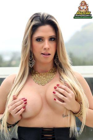 Nicole Balls @ Brazilian Shemales