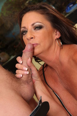 Well-endowed Hot MILF Margo Sullivan..