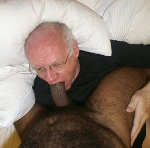Gay old men sucking black..
