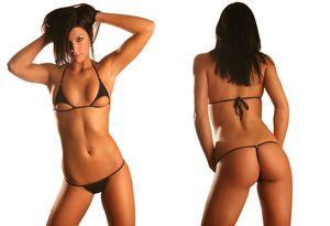Bikini brazilian mini - Porno photo
