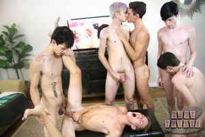 Group of naughty gay boys finally..