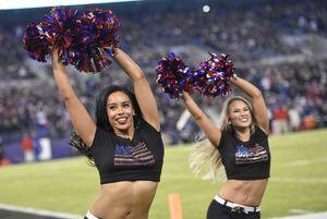 NFL cheerleaders from Week 12 -..