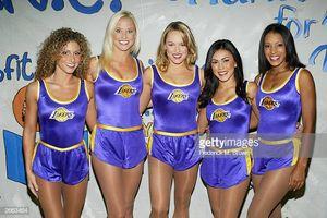 High School Cheerleaders Game Stock..