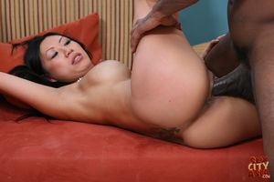 Tia Ling getting her pussy rammed by..