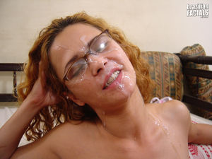 Brazil Cum Facial Shot - Sweet And..